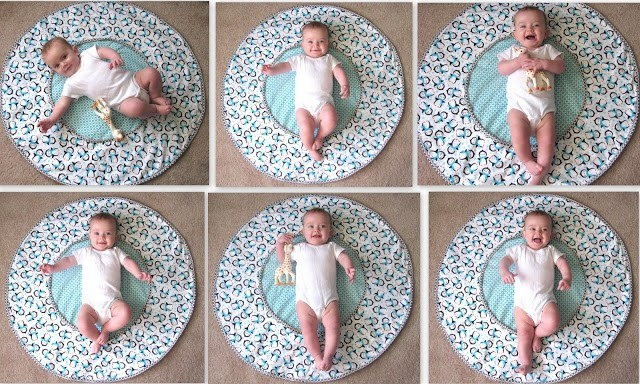 This DIY Travel Diaper Changing Pad & Playtime Mat saves room whether your traveling a long distance or just going somewhere local! Make one for yourself or give it as a gift!