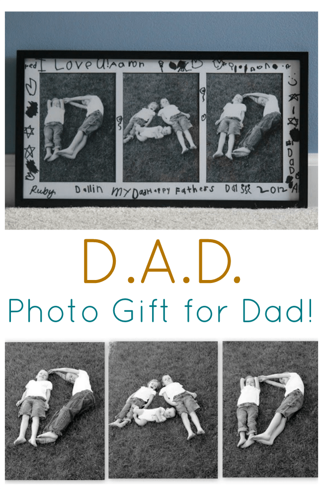 Dad Photo Collage Gift For Dad Quick And Easy