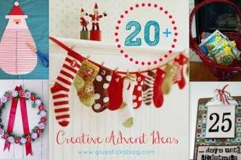 20+ Christmas Advent Ideas