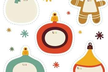 10 Printable Christmas Tags {Free}
