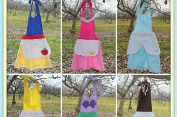 The Princess Play Apron {Tutorial}