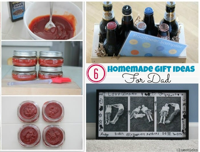 Homemade Gift Ideas for Dad