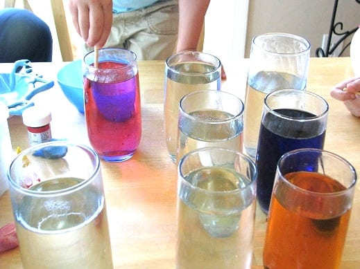 Homemade Rock candy is simple to make, it just takes a bit of patience! Watch the crystals grow on the string over the course of a few days! A fun and delicious science experiment.