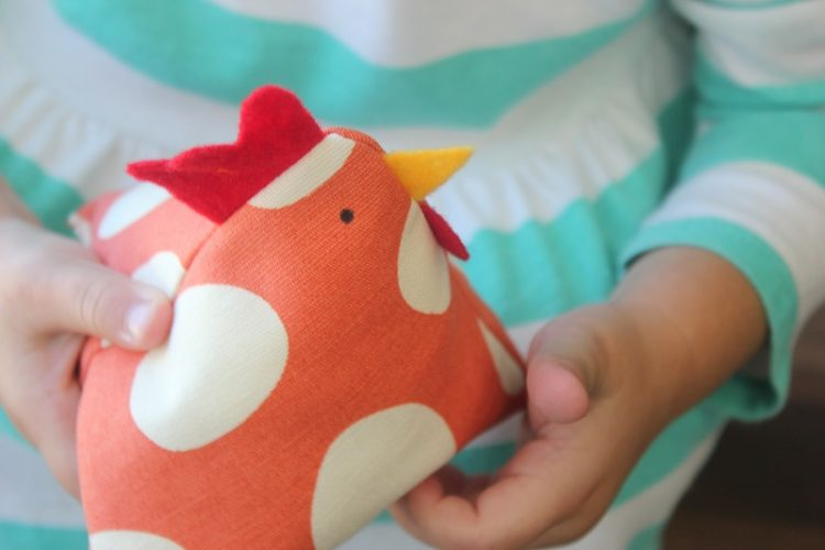 Diy Chicken Bean Bag Tutorial Gluesticks