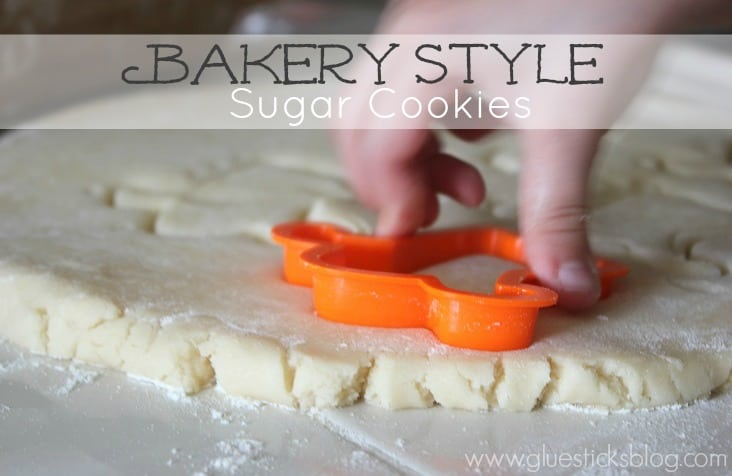 Bakery Style Sugar Cookie Recipe