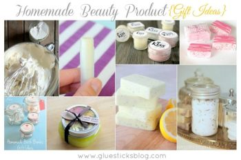 Homemade Beauty Product Gift Ideas