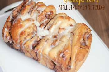 Grandpa Bob's Apple Cinnamon Nut Bread