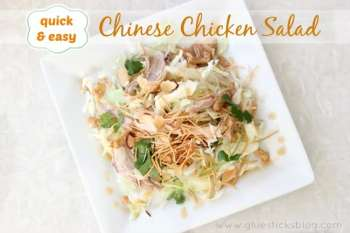 Quick and Easy Chinese Chicken Salad