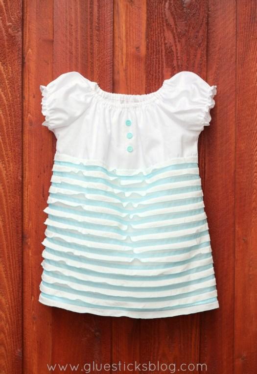 Simple Spring Ruffle Dress