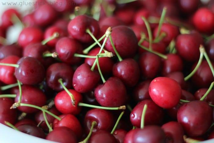 Fresh Cherry Pie gluesticksblog