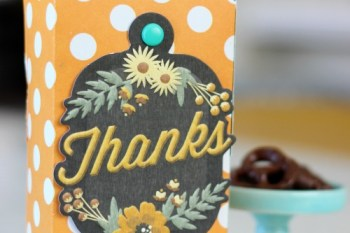 DIY Bakery Gift Box {Chocolate Covered Pretzel Recipe}