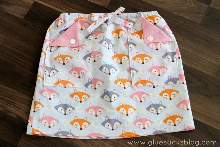 First grade skirt pattern