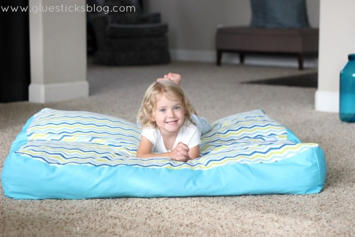 oversized floor pillow gluesticks blog
