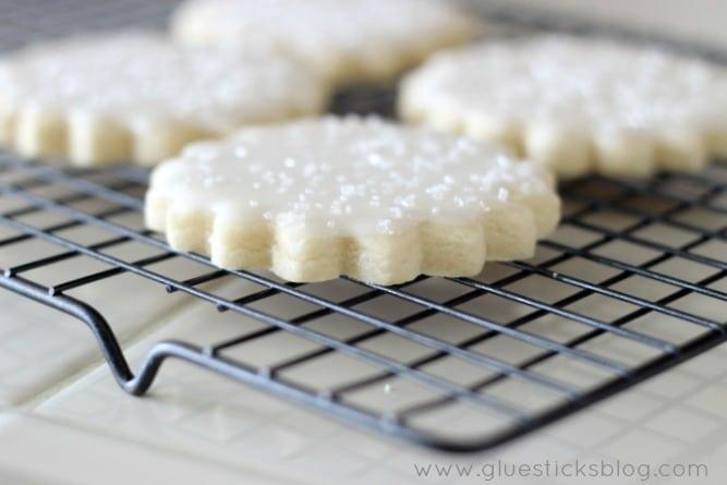 Lemon Iced Sugar Cookies