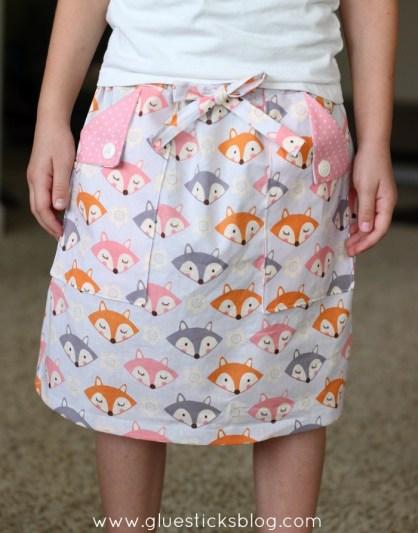 first grade skirt