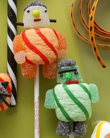 monster lollipops