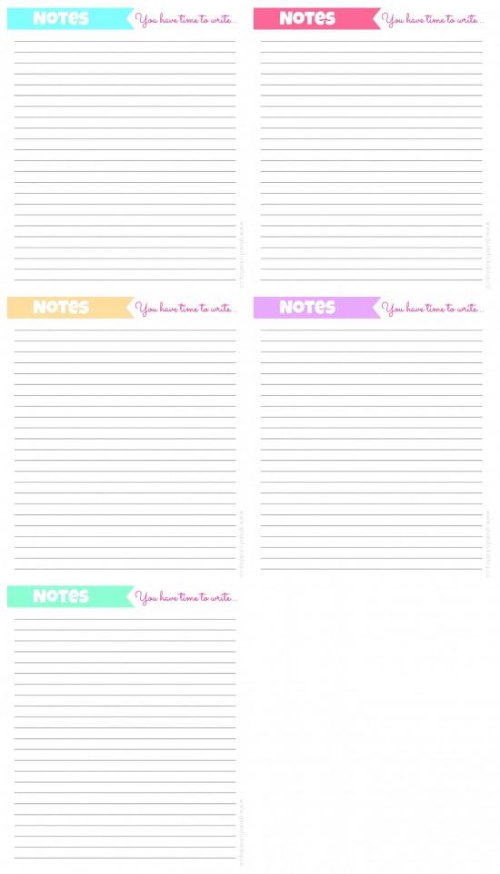 Free Printable Planner Pages: Menu Planner, Calendar Pages ...