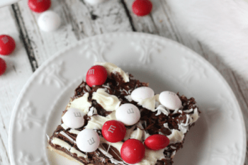 Black and White Peppermint Brownies for the Holidays