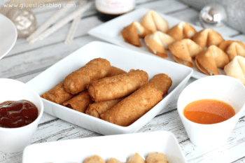 Asian Inspired New Year's Eve Appetizers
