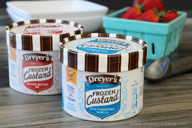 Make a decadent dessert in just minutes using frozen custard and pre-made chocolate cups!