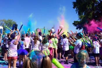 Our First Color Vibe Color Run!