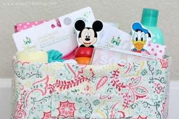Tutorial: DIY Disney Baby Gift Basket