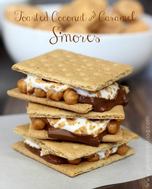 Toasted Coconut Smores