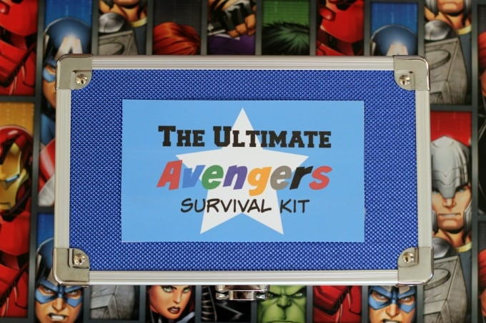 Avengers Survival Kit finished photo