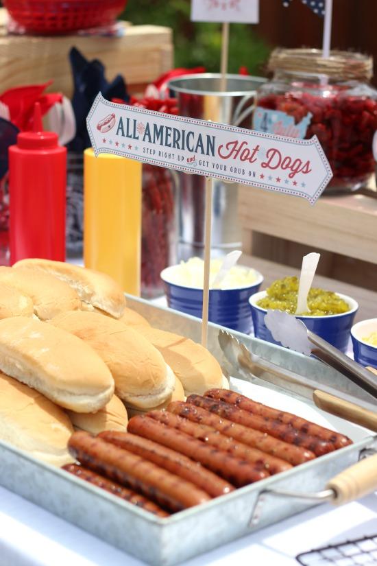 All American Hot Dog Bar