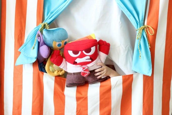 DIY Doorway Puppet Theater