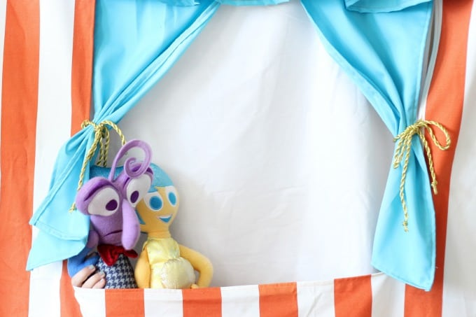 DIY Doorway Puppet Theater
