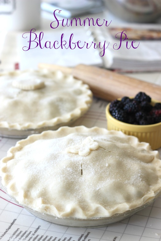 Summer Black Berry Pie Recipe