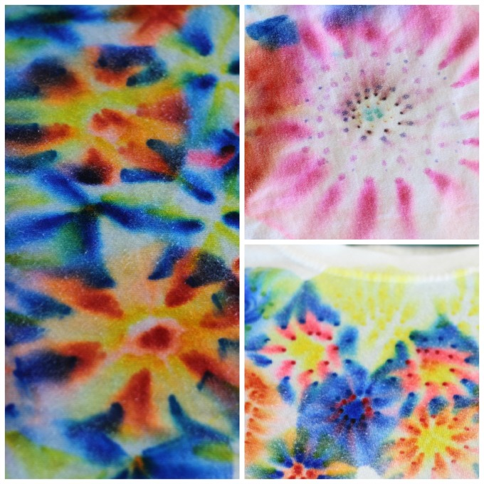 This quick and easy tutorial will show you how to tie dye a shirt with Sharpie markers. (Mock tie dye) Such a fun activity to make with kids and he best part is watching the ink bleed and transform into so many neat designs!