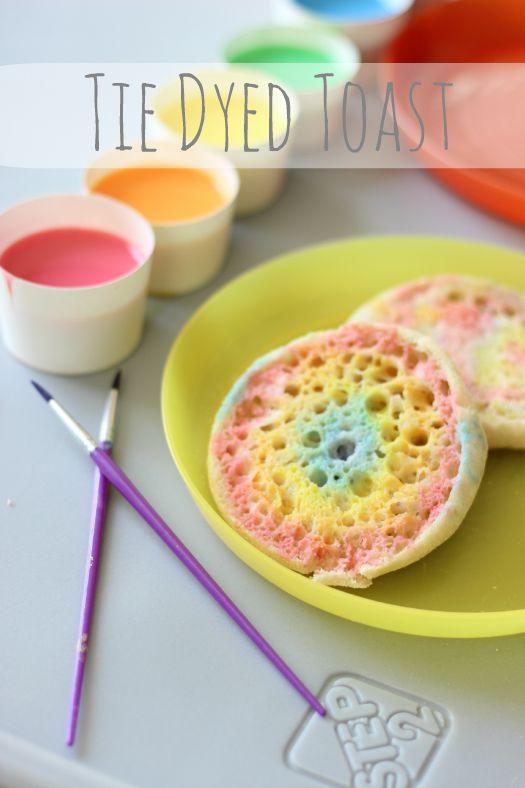 Tie Dyed Toast
