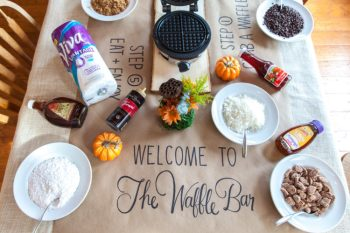 Switched Up Waffle Bar & Brunch Ideas with Viva® Vantage®