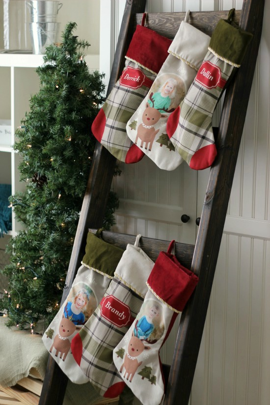 DIY Stocking Ladder