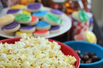 Inside Out Themed Movie Night