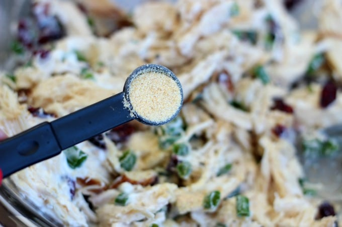teaspoon of garlic powder