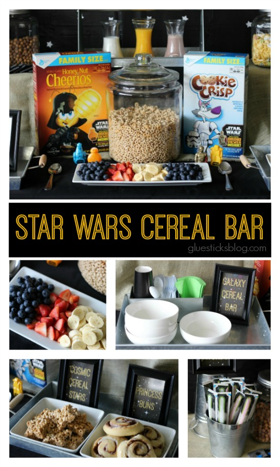 Star Wars Cereal Bar: a super fun party idea for kids!