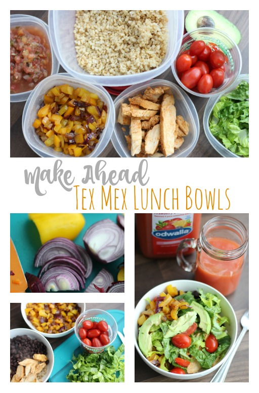 Make Ahead Tex Mex Bowls
