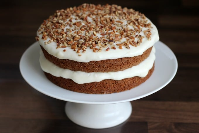 Moist and Delicious Carrot Cake