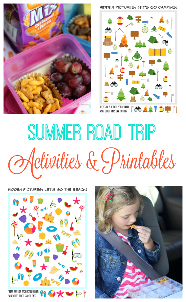Summer Road Trip Activities & Printables