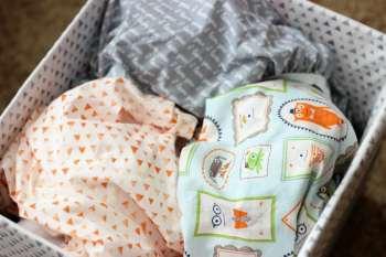DIY Crib Sheets {HALO Sleep Giveaway}