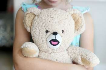 10 Minute Teddy Bear Sleeping Bag