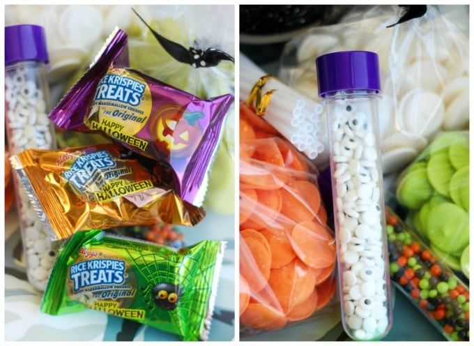 Complete with everything needed to make 3 types of Rice Krispies Treats® pops, this BOO kit is perfect for door bell ditching or leaving on a teacher's desk this year!