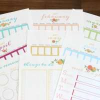 Printable 2017 Planner Pages