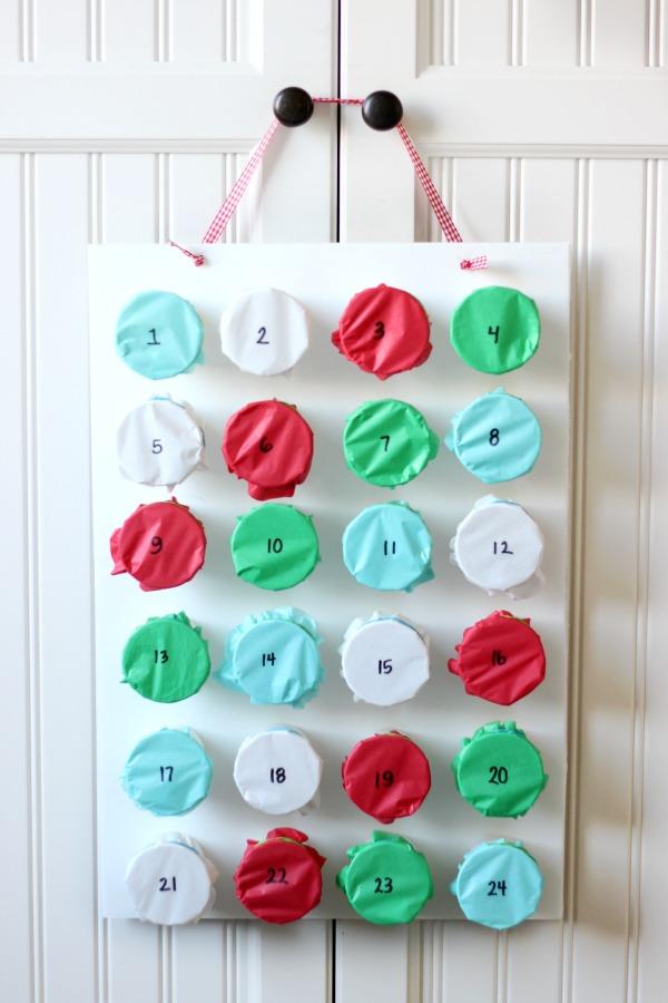 Tissue Punch Advent Calendar