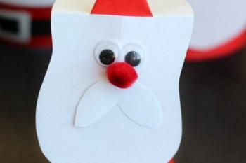Paper Cone Santa Claus