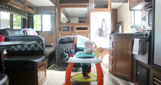A Travel Nursery for Baby