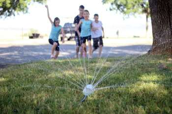 $1 Soda Bottle Sprinkler